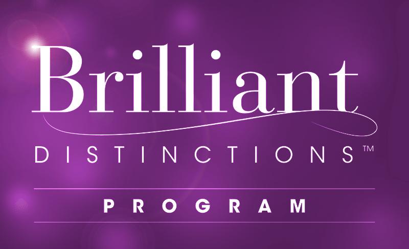 brilliant distinctions program